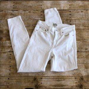 J. Crew Lookout High Rise Skinny Crop 27T